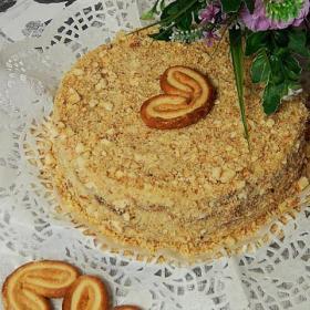 Всеми любимый торт - давно знакомый вкус. Вот только печь коржи нет необходимости.