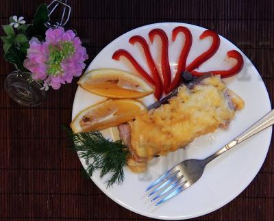 Нежное и сочное блюдо с необычным сочетанием продуктов.