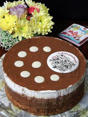 Волшебный, нежный, воздушный, супер шоколадный - и это все о нем, об этом торте.